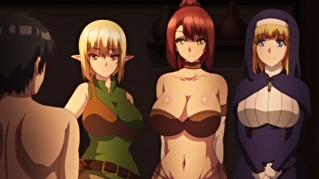 Isekai Harem Monogatari - Ep.1 - The Parallel World is A Harem Paradise - The Hero's Semen Shall Save The World!
